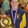 UHS&#8217; Hornibrook dominates at district swim meet