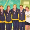 Six UHS swimmers advance to states
