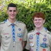 Ferentinos, Jacono become Eagle Scouts