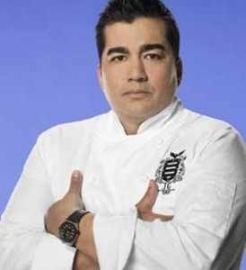 Iron Chef Jose Garces is just one three prominent TV chefs expected to appear during the 2011 Mushroon Festival in Kennett Square.
