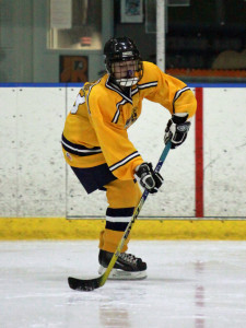 Unionville freshman Izzy McDonough assisted on the lone Indians goals Friday night.