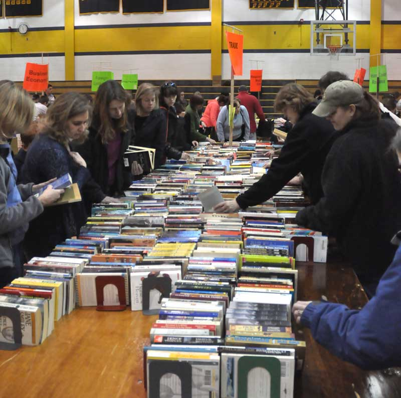 While the 2011 Used Book Sale was a big success, donations of used books and videos are needed to ensure that the 2012 version is even more successful.