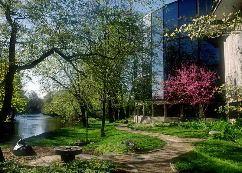 The path behind the Brandywine River Museum as photographed by Mark Gormel.