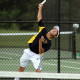 Unionville's Johnny Wu battled back to win his singles match cementing the win