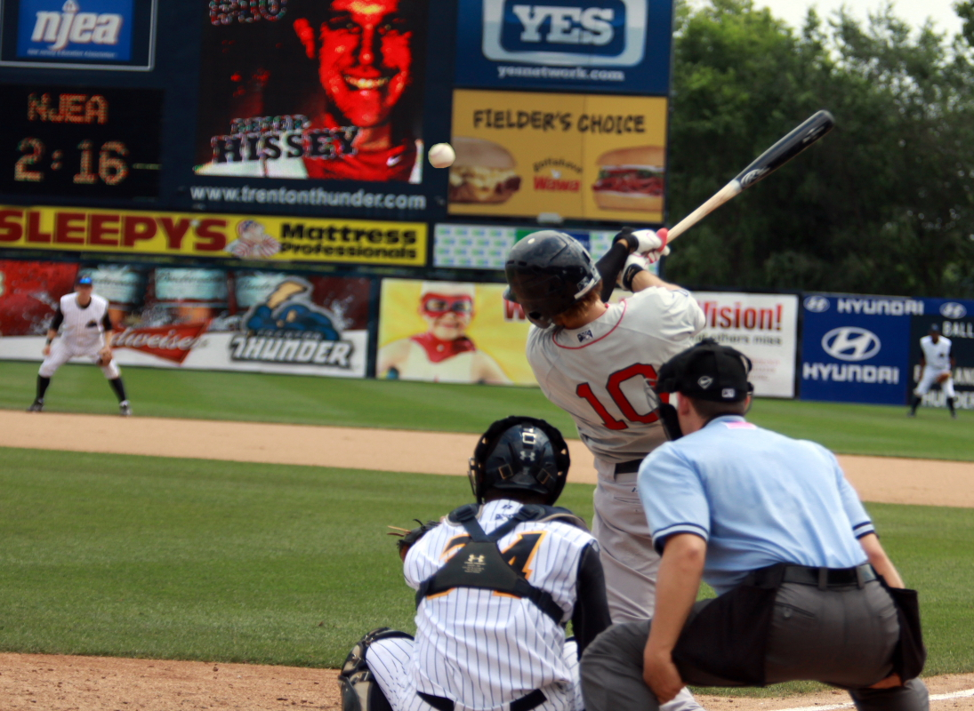 Unionville product Pete Hissey is making his mark for Portland in the Eastern League.