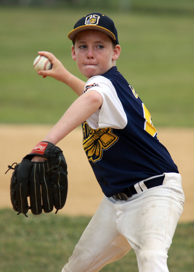 """Unionville's Connor Gilden was """"lights out"""" in an 8-1 win"""