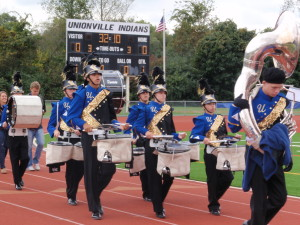 The Unionville High School Marching Band is hosting a multi-school competition with food, music and pageantry on Oct. 20.