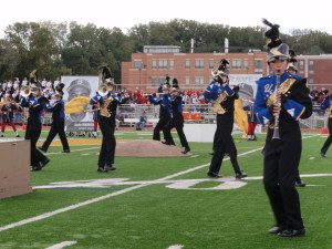 The Unionville High School Marching Band will perform its 2012 show, &quot;Baseball: An American Tradition,&quot; at the Oct. 20 &quot;March on the Brandywine&quot; cavalcade.