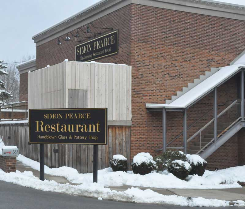 The former Simon Pearce building has been vacant since Feb. 2011. Published reports suggest that a local developer expressed interest in turning it into an Under-21 Club, but township officials say they've received no information on the issue.