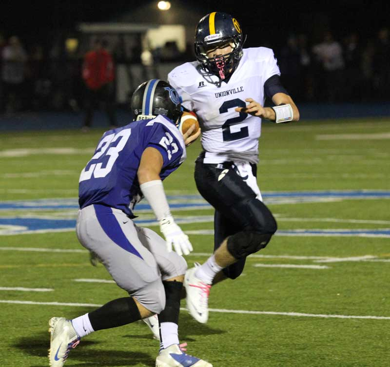 Unionville High School football highlights