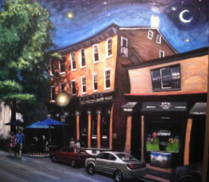 Works by West Chester artist John Hannafin, many of which feature area landmarks, will be on display at the Chadds Ford Gallery.