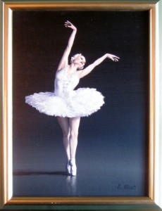 """En Pointe"" by Bruce Blue will be included in the ""Blues Brothers"" art exhibit."