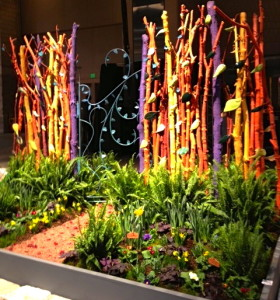 "An installation by an artistic team from the Chester County Art Association entitled ""Hockney's Haven"" will be displayed at the 2013 Philadelphia Flower Show."