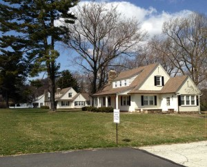 The Kennett Township supervisors tabled a vote on a demolition permit from Longwood Gardens for three bungalows it owns on Rt. 1 near the entrance to the gardens.