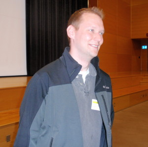 "Chris Weersing, 29, calls talking to teens about the danger of impaired driving ""my therapy."""