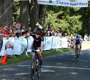 The earlier stages of the Chesco Gran Prix, as seen above, were run throughout Chester County. The final stage is Saturday in Kennett Square. Image courtesy Chesco Gran Prix.