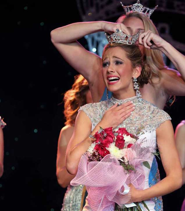 Becca Jackson, a 2010 graduate of Unionville High School, was crowned as Miss Delaware last month. Photo courtesy Miss Delaware Scholarship Organization. Joe Whiteko Photography