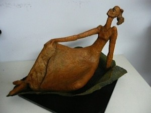 """Thumbelina,"" a sculpture"
