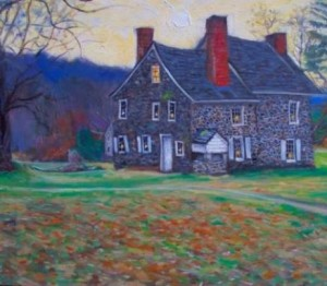 Works by West Chester artist John Hannafin will be displayed at the Galer Estate Vineyard on