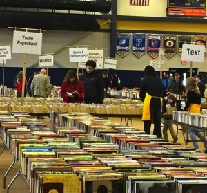 The Unionville High 2014 used book sale offers a dizzying array of genres and titles.