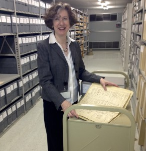 """Laurie Rofini, director of Chester County Archives and Records Services, will lead a """"History on Tap"""" program on Ann Preston, a 19th-century pioneer, on March 18."""