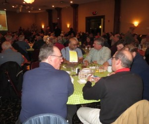 More than 300 patrons filled the Westside Entertainment Center for the Fifth Annual Wild Game Dinner.