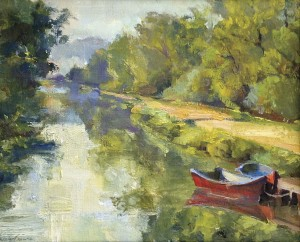 Jacalyn Beam is one of two plein air painters featured in a show opening on Friday at the Chadds Ford Gallery.
