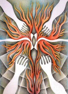 Judy Chicago is one of the artists who will be featured at the Brooklyn Art Museum for the CCAA bus trip to New York.