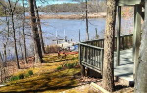 Authorites allege that funds embezzled by Joyce Hawkins helped financed a vacation home and two boats in Chestertown, Md.