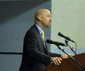Unionville-Chadds Ford Superintendent of Schools Dr. John Sanville predicts a bright future for the Unionville High School Class of 2014.