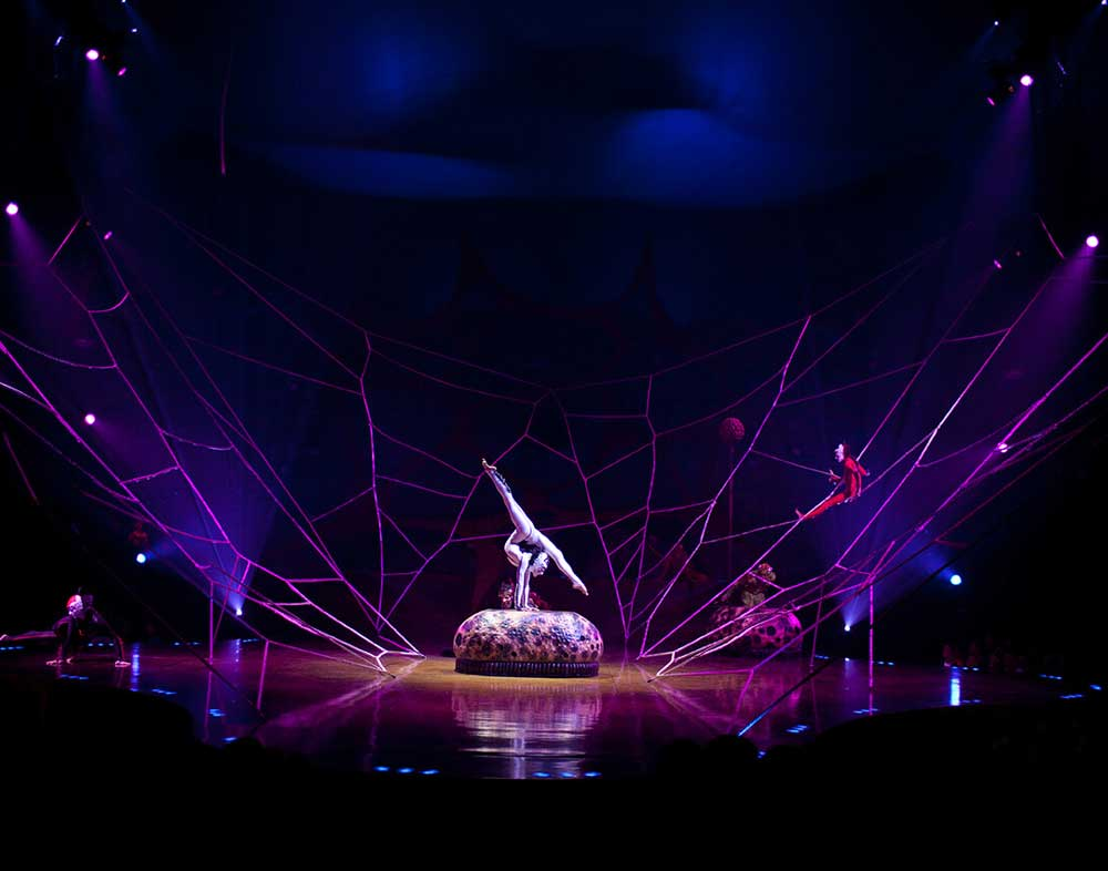 Cirque du Soleil's OVO comes to Philadelphia this week.