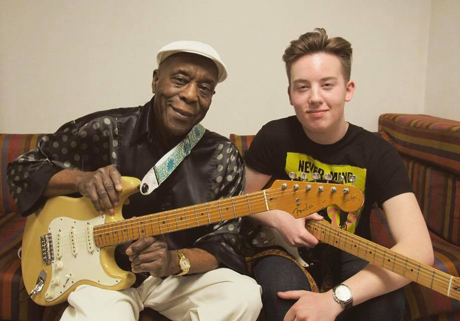 on stage blues guitar aces young and old share stage the unionville times. Black Bedroom Furniture Sets. Home Design Ideas