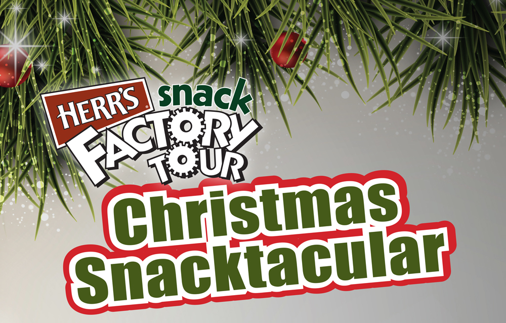 the time for the annual holiday event at herrs snack food factory 20 herr drive nottingham 610 932 9330 wwwherrscom has arrived christmas
