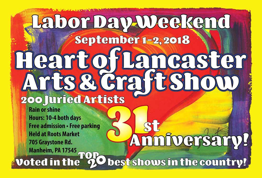 Heart Of Lancaster Art And Craft Show