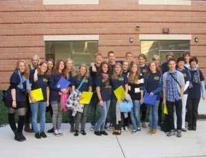 20 students and their teachers from Germany are spending the next two weeks at Unionville High School as part of an exchange program. In 2012, Unionville students will travel to Germany.