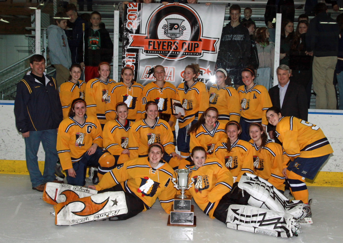 the 2011/12 girls Flyers Cup Champions- Unionville