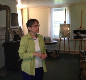 """Brandywine River Museum Curator Mary Cronin discusses the Kuerner Farm """"pop-up"""" musical experiment."""