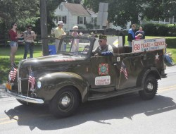 One of the many historic vehicles seen during Monday's Memorial Day Parade in Kennett. See slideshow above for more images.