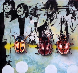 """Beetles"" by Jeff Schaller will creatively co-exist with horses at the annual Delaware Valley Point-to-Point Association's 2013 Awards Party, which will be held at the old Lipkin's warehouse in Coatesville on June 28."