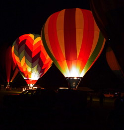 The Balloon Glow always offers great photo opportunities for visitors to the Chester County Balloon Festival, which will be held Friday and Saturday at Plantation Field in Unionville.