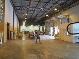 The Chester County Food Bank's new facility in Uwchlan Township offers four times the size of its current warehouse in East Brandywine Township.