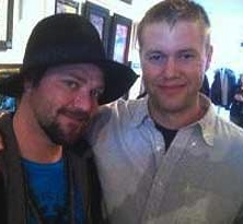 "Brandon ""Bam"" Margera will be accompanied on his global music tour by John Hannafin, a West Chester artist."