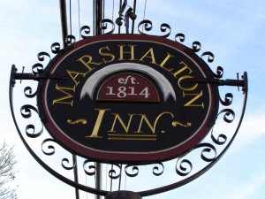 """The Marshalton Inn will host  a """"History on Tap"""" program Monday night from the Chester County Historical Society."""
