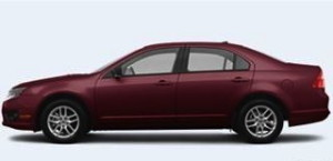 West Whiteland Township Police said a missing 92-year-old man was driving a Ford Fusion sedan like the one pictured.