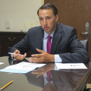 County Commissioners' Chairman Ryan Costello is now the only GOP candidate expressing interest in the Sixth District Congressional seat being vacated by Jim Gerlach.