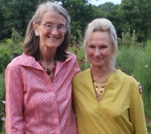 Bonnie Van Alen, president and executive director of Willistown Conservation Trust, and Alice Hausmann, vice chair as well as chair of the trust's Community Farm Program Committee are being honored.