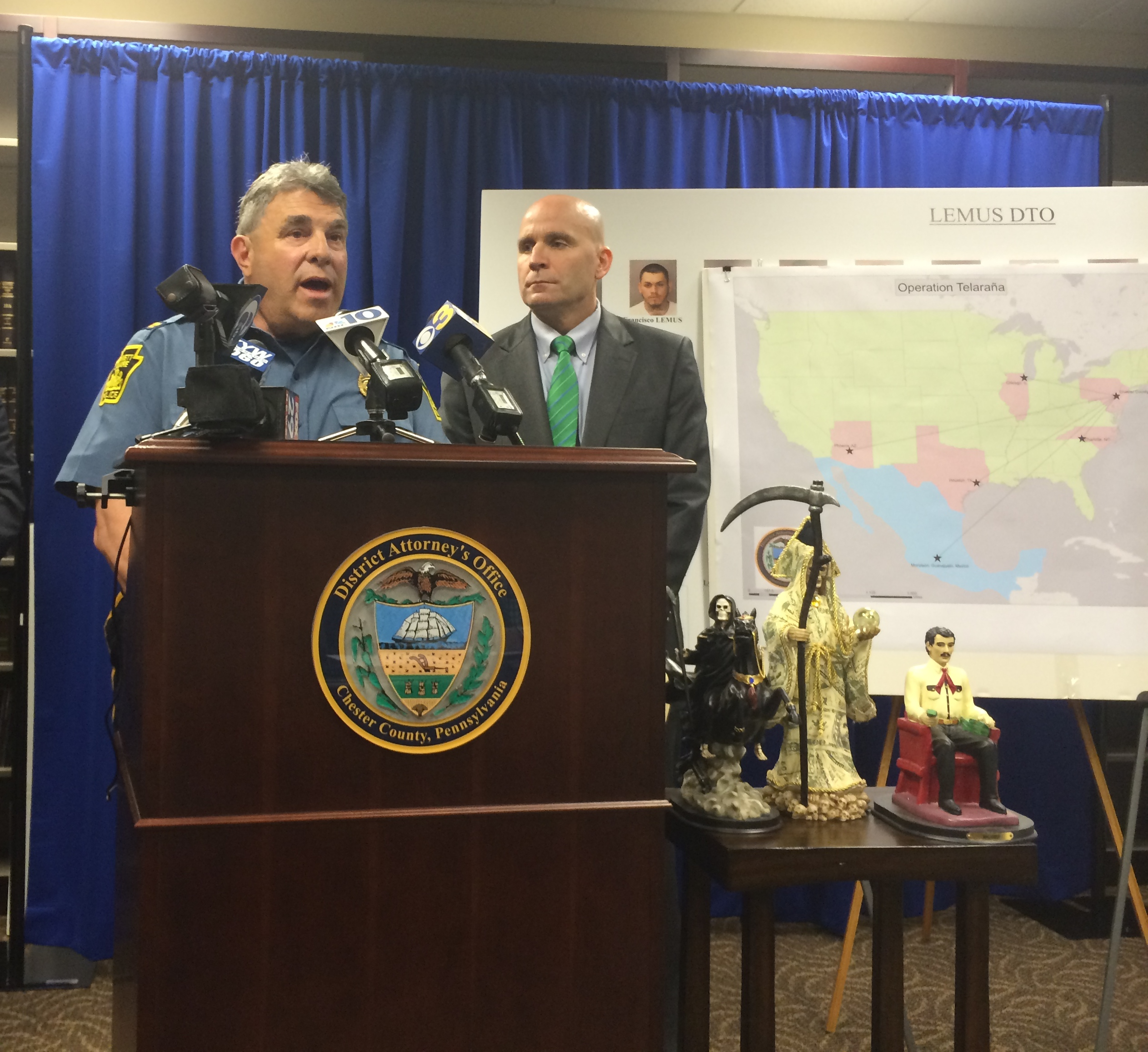 Largest drug bust in county history announced | The