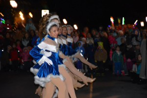 kennett Dancers-at-Holiday-Light-Parade