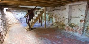 basement of edgar allen poe's house