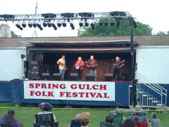 The Spring Gulch Folk Festival is back for another year at Spring Gulch Resort Campground this weekend.